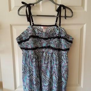 Cacique Striped Nightgown